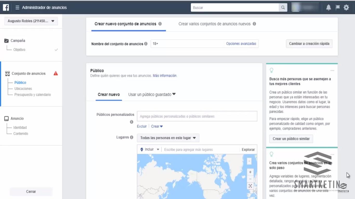 Aprende a Segmentar solo a Trabajadores de Gobierno en Facebook 1