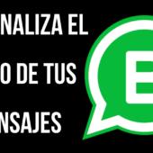 Cómo Personalizar un Mensaje de WhatsApp Para tus Clientes