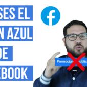 ¿Por Qué NO Debes Usar el Botón Azul de Facebook ☠️»PROMOCIONAR»☠️?